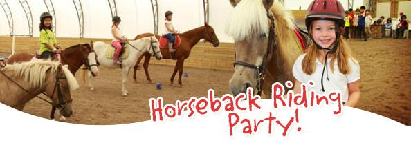 Horseback-party