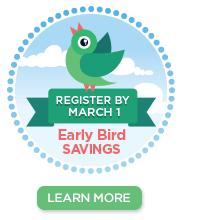 Register before March 1st