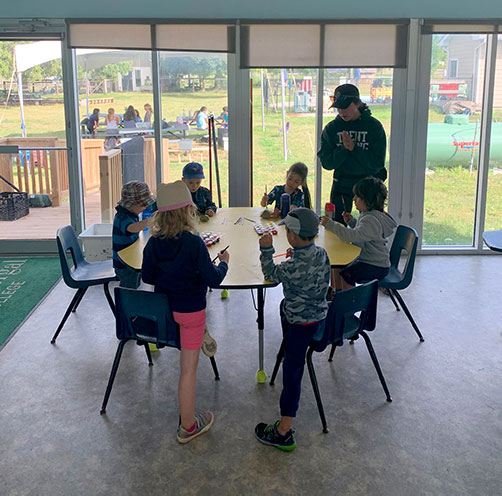 Earthbound Kids Learning Pod Classroom