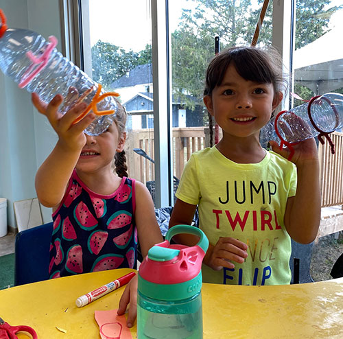 Indoor Crafts and nature experiments