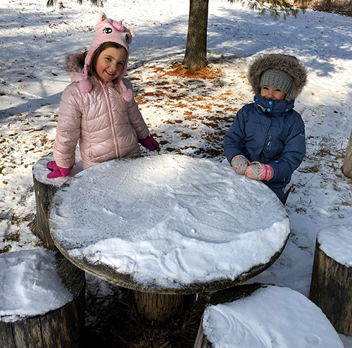 Winter Learning at Earthbound Kids